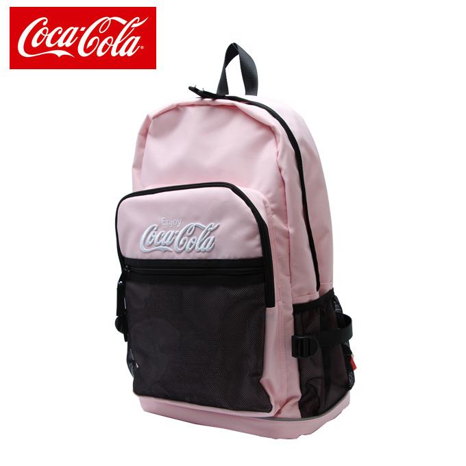 コカコーラ Coca-Cola  バックパック メンズ  レディース Cメッシュポケットリュック COK-MBBKD09 PK