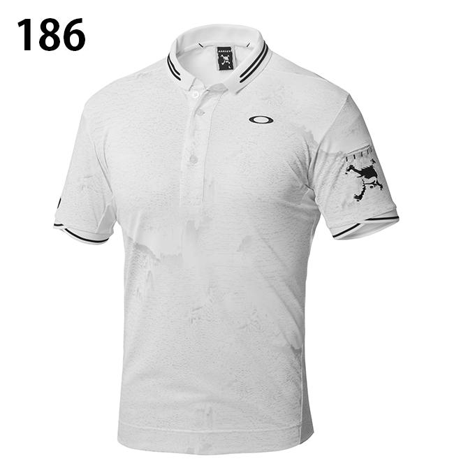 オークリー ゴルフウェア ポロシャツ 半袖 メンズ SKULL INTERFERENCE POLO スカル インターフェレンス ポロ 434180JP OAKLEY