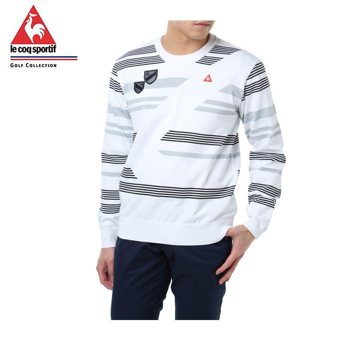 ルコック le coq sportif ゴルフウェア セーター メンズ Vネック QGMLJL02