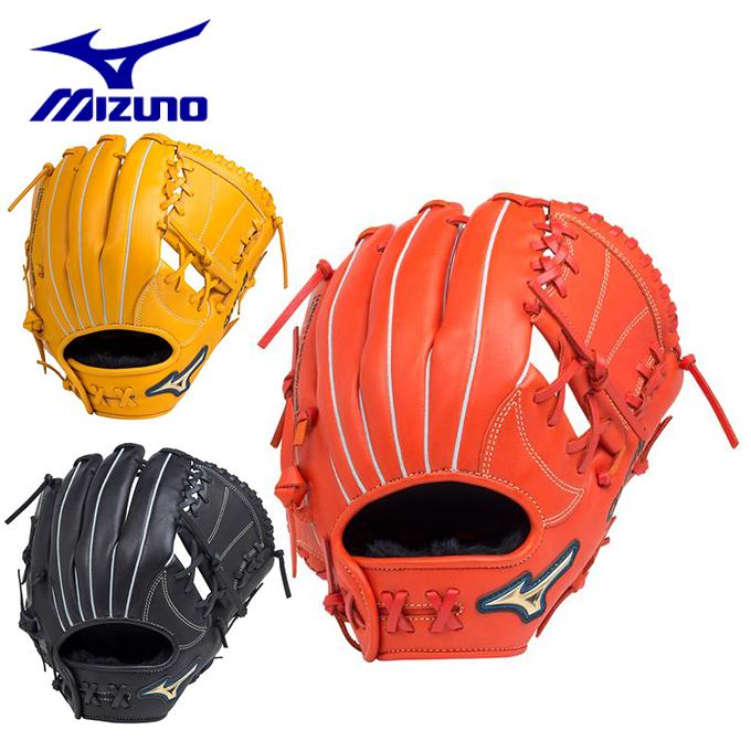 ミズノ 野球 一般軟式グラブ 内野手用 メンズ レディース 軟式用セレクトナインAXI 内野手向け サイズ9 1AJGR18713 MIZUNO