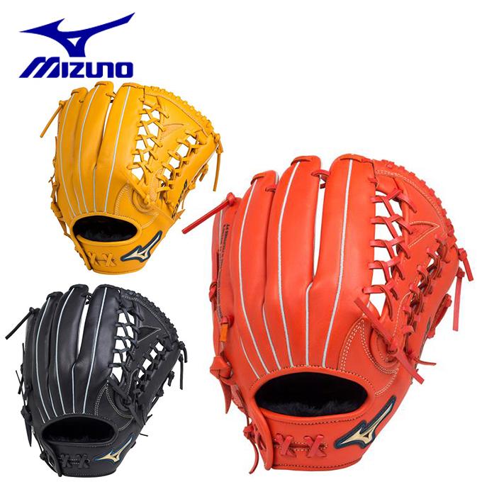 ミズノ 野球 一般軟式グラブ 外野手用 メンズ レディース 軟式用セレクトナインAXI 外野手向け サイズ14 1AJGR18707 MIZUNO