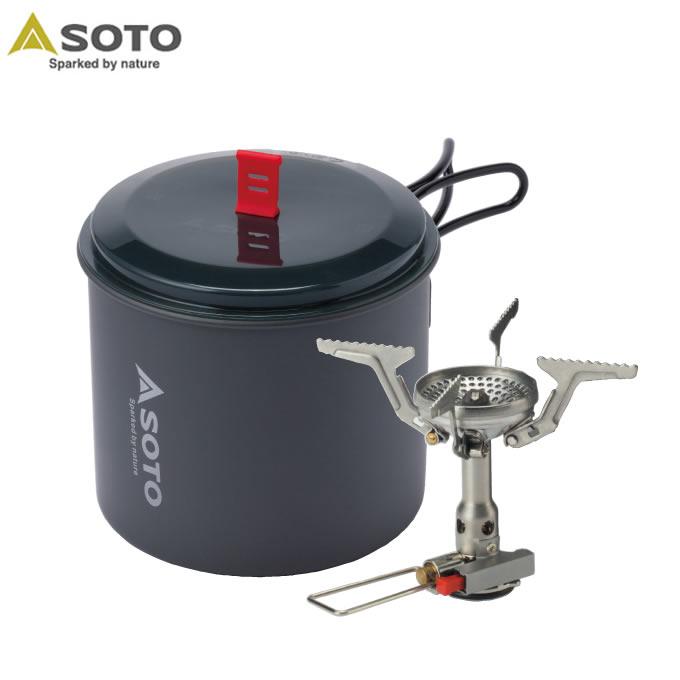 ソト SOTO シングルバーナー アミカスポットコンボ SOD-320PC