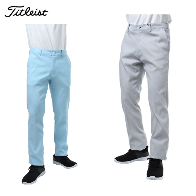 タイトリスト Titleist ゴルフウェア ロングパンツ メンズ ピンチェックパンツ TSMP1879