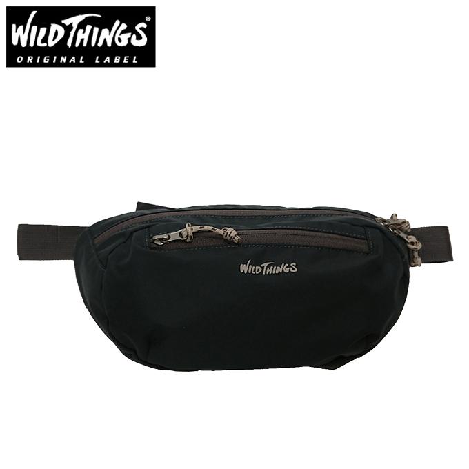 ワイルドシングス WILDTHINGS ウエストバッグ メンズ レディース WT-380-0105 GY