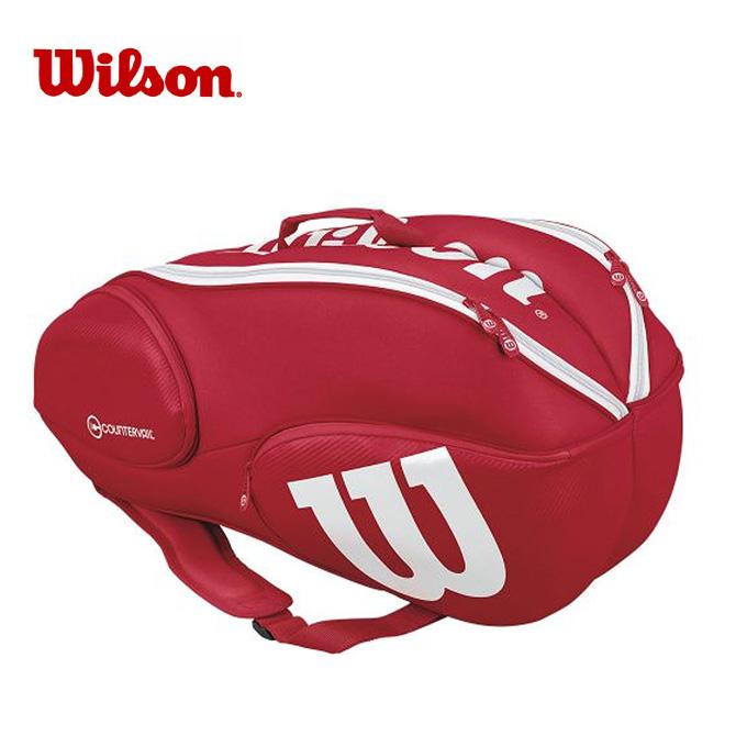 ウイルソン Wilson ラケットリュック メンズ レディース VANCOUVER 9 PACK RDWH バンクーバー パック WRZ840709