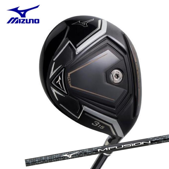 ミズノ ゴルフクラブ フェアウェイウッド メンズ GX フェアウェイウッド MFUSION F カーボンシャフト付 MIZUNO