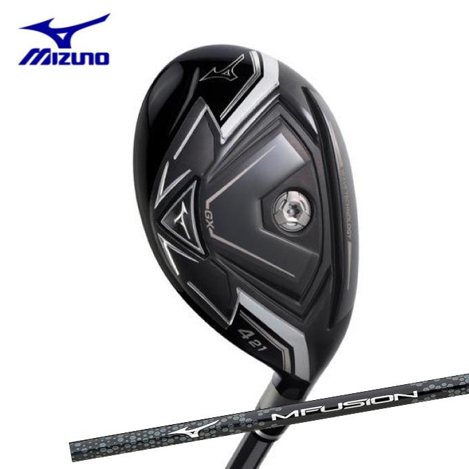 ミズノ ゴルフクラブ ユーティリティ GX ユーティリティ メンズ MFUSION U カーボンシャフト 5KJBB56360 MIZUNO