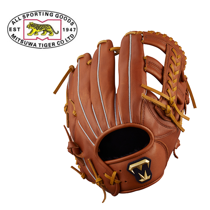 ミツワタイガー MITSUWA TIGER 野球 一般軟式グラブ オールラウンド用 メンズ レディース REVOLTIGER レボルタイガー 軟式一般用グラブ RGT18MAL-080