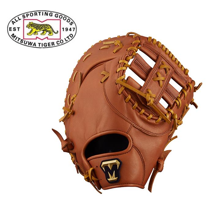ミツワタイガー MITSUWA TIGER 野球 一般軟式グラブ 一塁手 メンズ レディース REVOLTIGER レボルタイガー 軟式一般用グラブ RGT18M1B-080