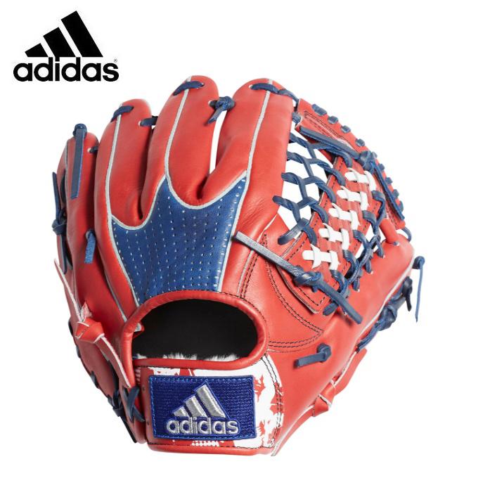 アディダス 野球 一般軟式グラブ オールラウンド用 メンズ 軟式カラーグラブ CX2100 ETY97 adidas
