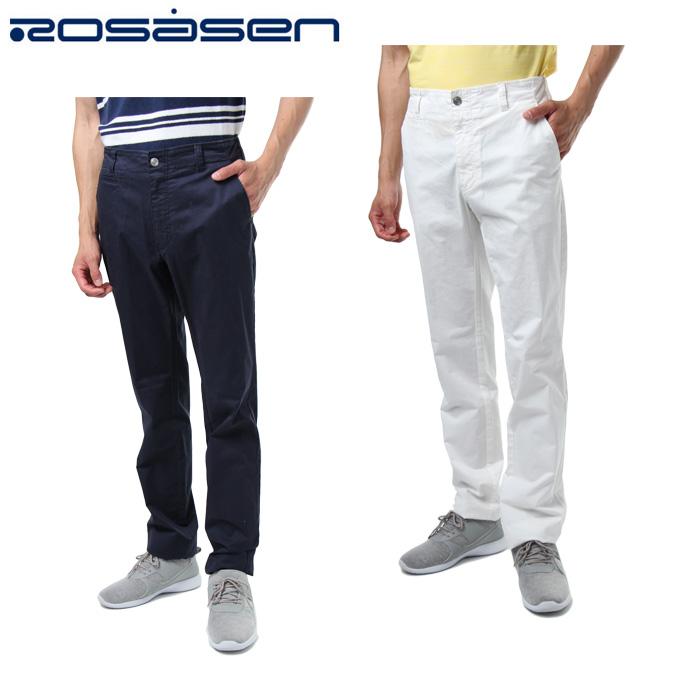 ロサーセン ROSASEN ゴルフウェア ロングパンツ メンズ ストレッチチノパンツ 044-77210