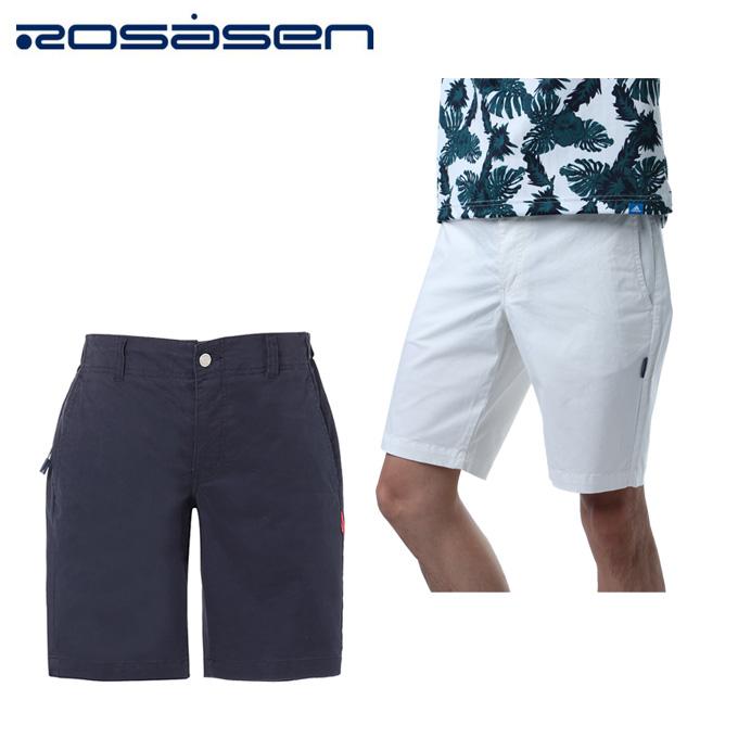 ロサーセン ROSASEN ゴルフウェア ショートパンツ メンズ チノストレッチ 044-77442