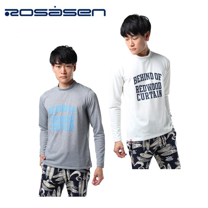 ロサーセン ROSASEN ゴルフウェア 長袖シャツ メンズ モックネックプルオーバー 044-27211