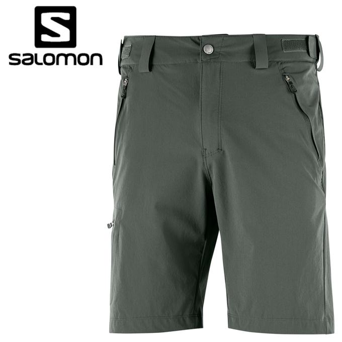 サロモン ハーフパンツ メンズ WAYFARER SHORT ウェイファーラーショート L40107700 salomon
