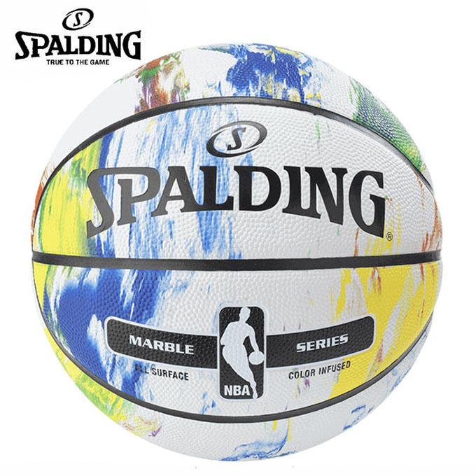 購入後レビュー記入でクーポンプレゼント中 スポルディング バスケットボール 並行輸入品 7号球 マーブルコレクション 新作アイテム毎日更新 83-636Z 屋外用 SPALDING