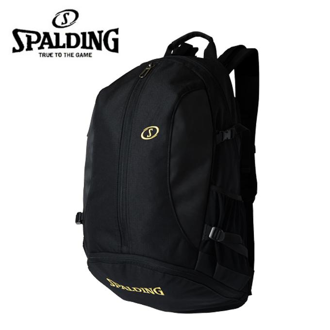 スポルディング SPALDING バスケットボール バックパック メンズ レディース ジャイアントケイジャー ゴールド 41-010GD