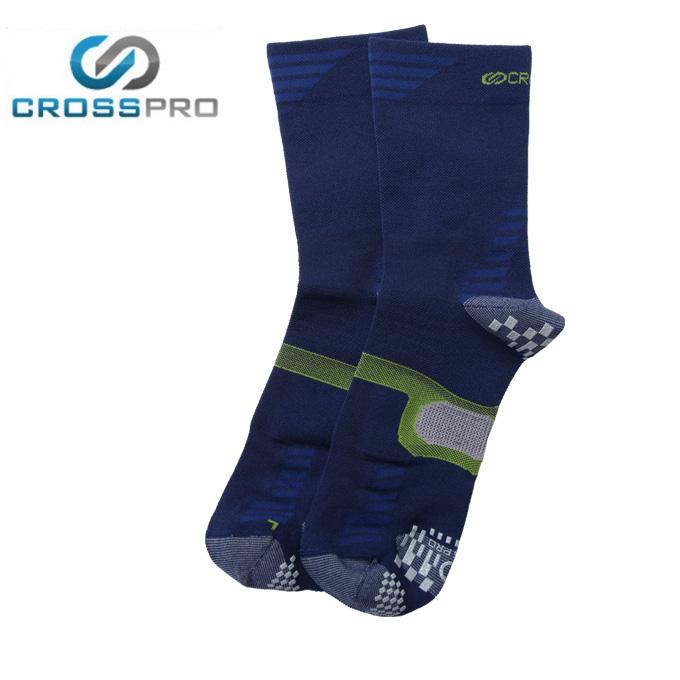 クロスプロ CROSS PRO トレッキングソックス 3DFアーチパネル薄手クルー Z378-201-26-79