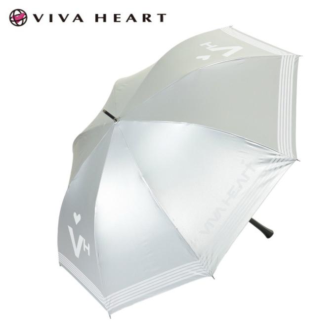 ビバハート VIVA HEART ゴルフ 傘 レディース 晴雨兼用銀傘 013-97461