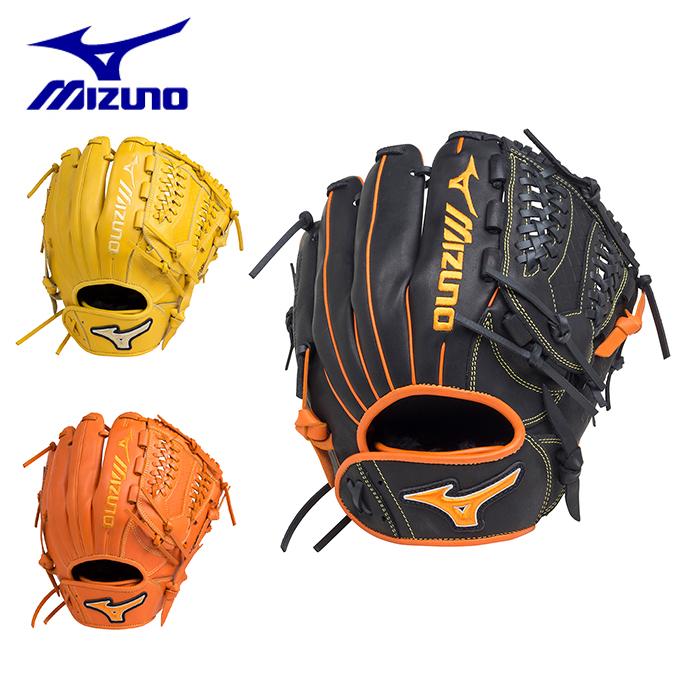 ミズノ ソフトボールグローブ メンズ レディース ソフトボール用エレメントフュージョンUMiX U3 投手×内野×外野 サイズ9 1AJGS18430 MIZUNO