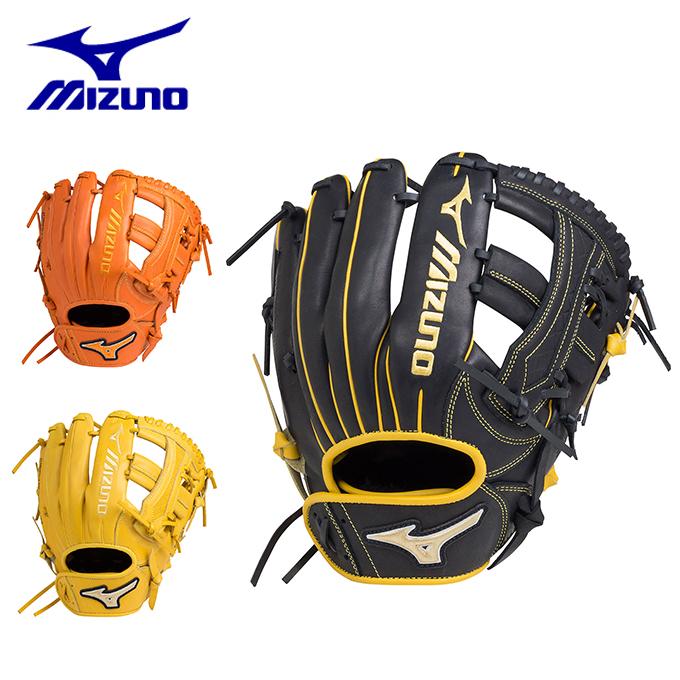 ミズノ ソフトボールグローブ メンズ レディース ソフトボール用エレメントフュージョンUMiX U4 内野×外野 サイズ10 1AJGS18450 MIZUNO