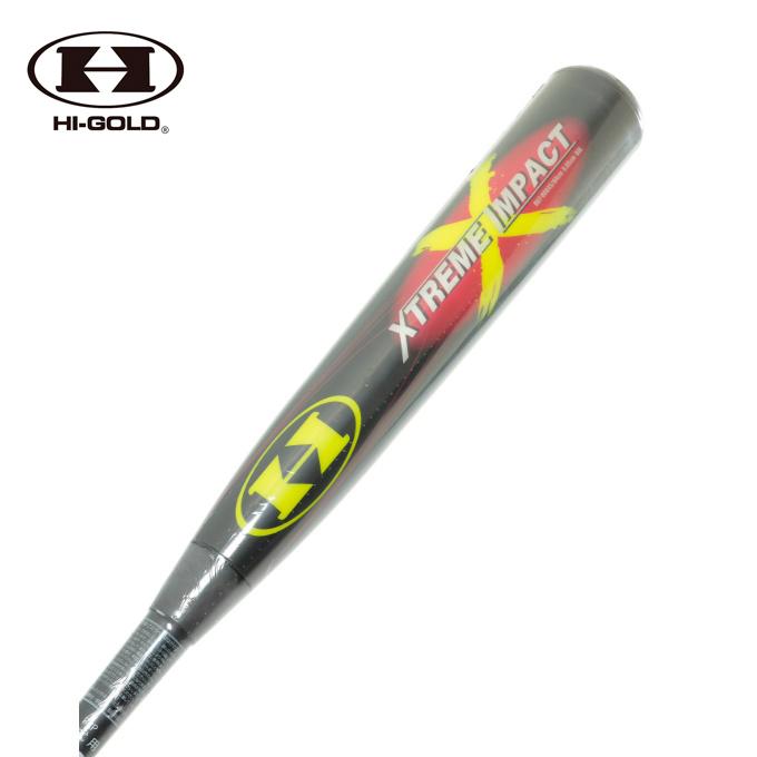 ハイゴールド HI-GOLD 野球 一般軟式バット エクストリームインパクト UBT-0084SBG