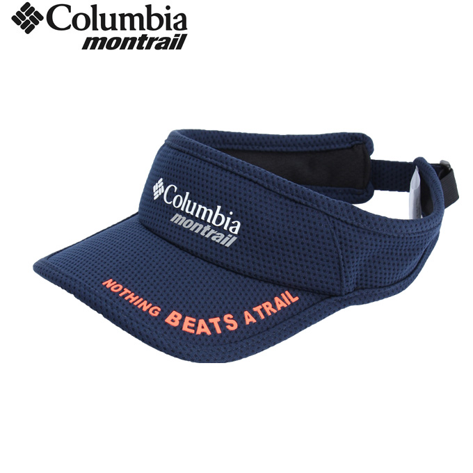 コロンビア モントレイル Columbia montrail  サンバイザー メンズ レディース ナッシングビーツアトレイル バイザー3 XU0043 425