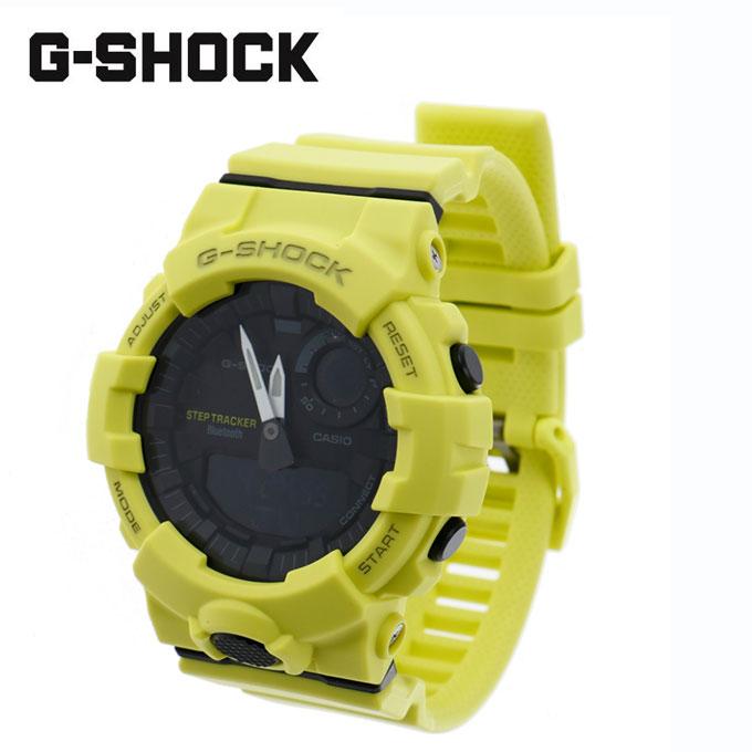 【クーポン利用で2,000円引 7/29 0:00~8/1 23:59】 ジーショック G-SHOCK ランニング 腕時計 メンズ レディース G-SQUAD ジー・スクワッド GBA-800-9AJF