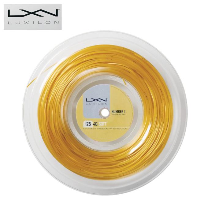 ルキシロン LUXILON 硬式テニスガット 4G SOFT 125 Reel WRZ990143
