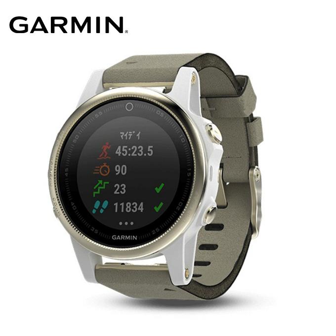 ガーミン GARMIN ランニング 腕時計 メンズ レディース fenix 5S Sapphire 010-01685-45