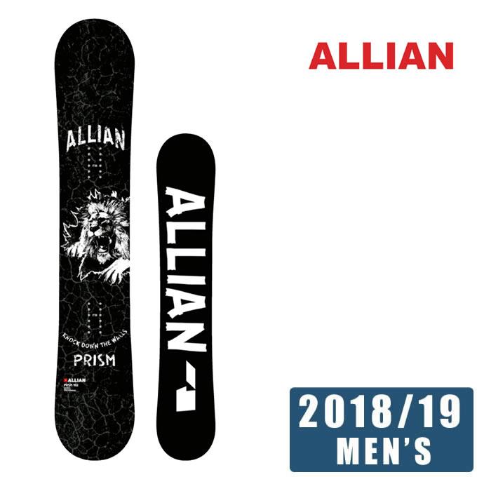 アライアン ALLIAN スノーボード 板 メンズ プリズム PRISM