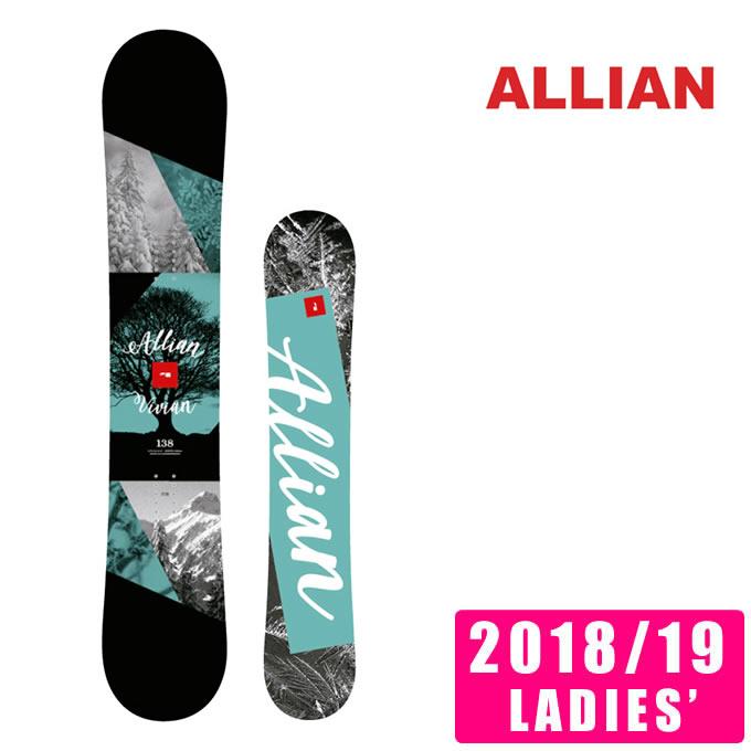 アライアン ALLIAN スノーボード 板 レディース ビビアン VIVIAN