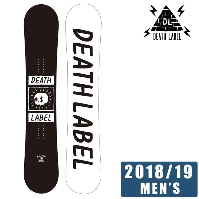 デスレーベル DEATH LABEL スノーボード 板 メンズ レディース ブラックフラッグ BLACK FLAG