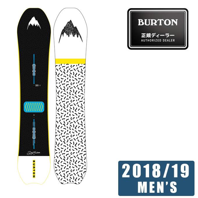 バートン BURTON スノーボード 板 メンズ Men's Deep Thinker Snowboard ディープシンカー 172001