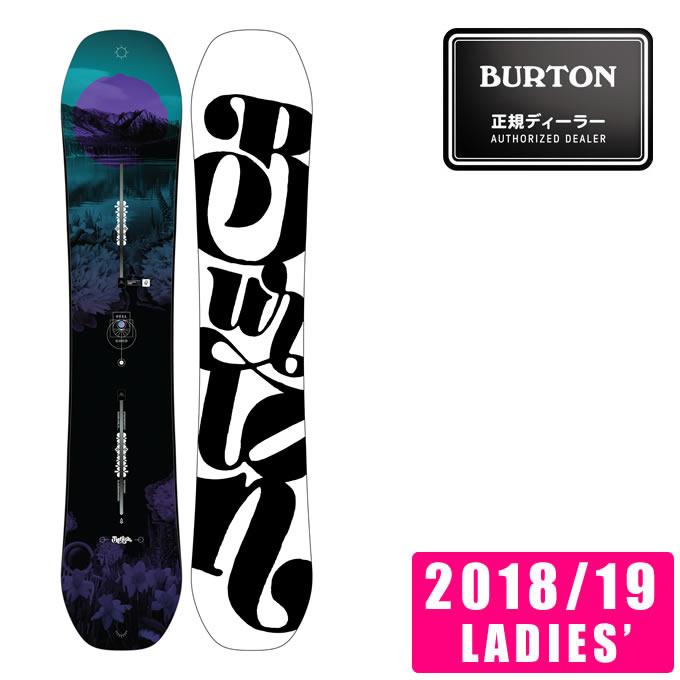 バートン BURTON スノーボード 板 レディース Women's Feelgood Snowboard フィールグッド 106911