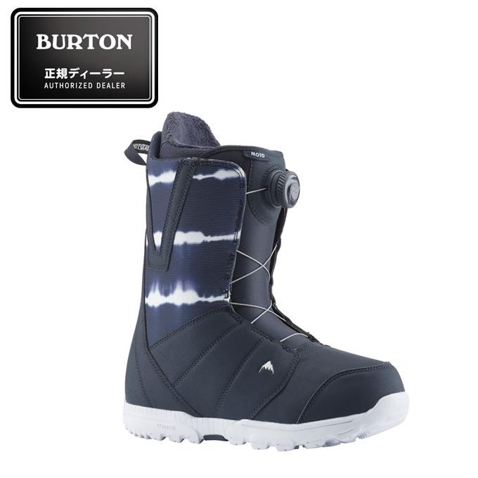 バートン BURTON スノーボードブーツ ダイヤルタイプ メンズ Men's Moto Boa Snowboard Boot BL モトボア 131761