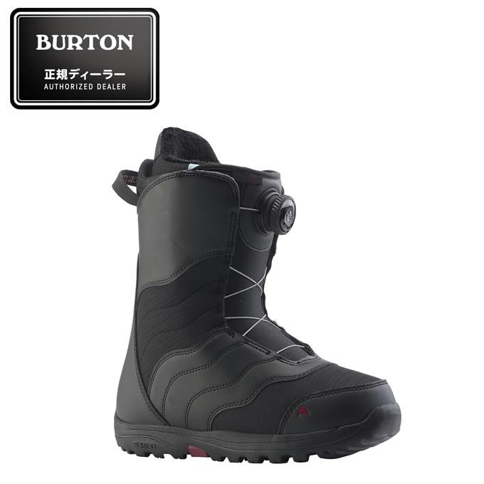 バートン BURTON スノーボードブーツ ダイヤルタイプ レディース Women's Mint Boa Snowboard Boot BK ミント ボア 131771