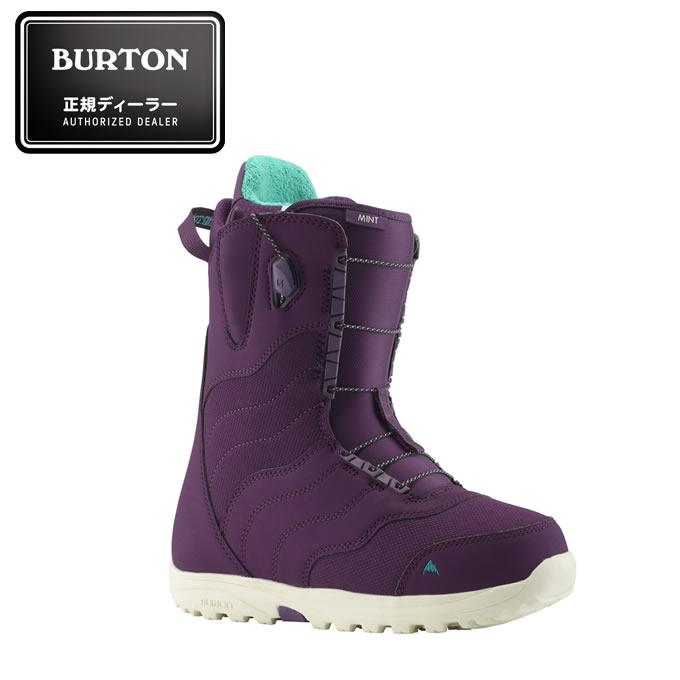 バートン BURTON スノーボードブーツ ひもタイプ レディース Women's MINT Snowboard Boot ミント スノーボード ブーツ 104381