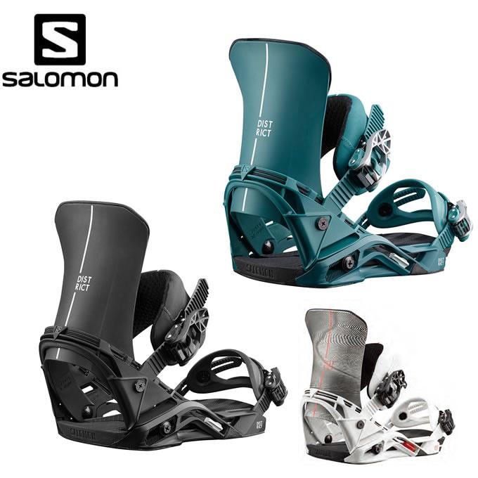 【クーポン利用で1000円引 11/18 23:59まで】 サロモン salomon スノーボード ビンディング メンズ ディストリクト DISTRICT