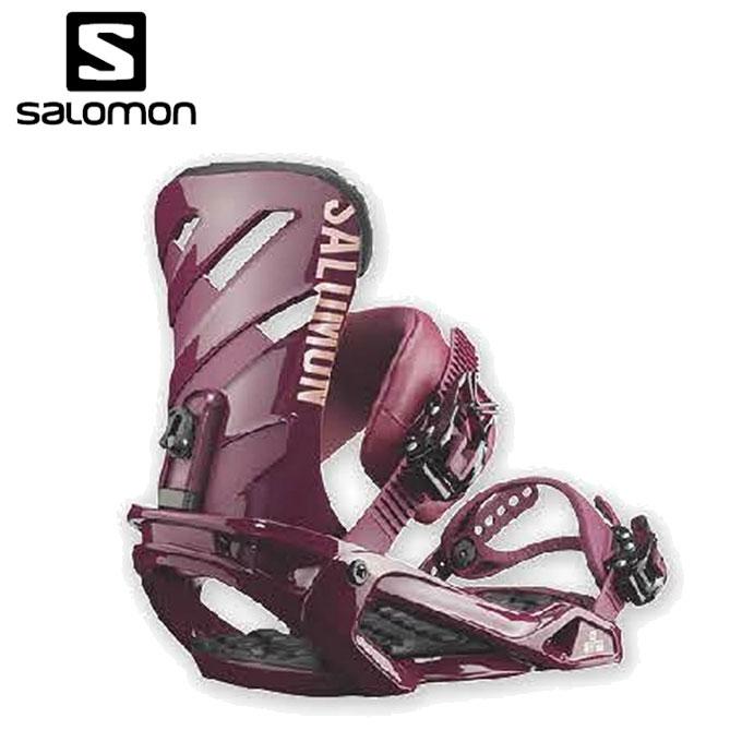 サロモン salomon スノーボード ビンディング レディース RHYTHM BURGUNDY リズム バーガンディ L40512700