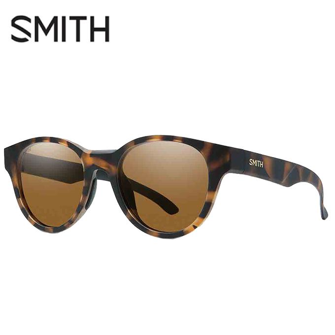 【5/5はクーポンで1000円引&エントリーかつカード利用で5倍】 スミス SMITH 偏光サングラス メンズ レディース Snare Matte Tortoise スネア SNARE MT TORT P BRN