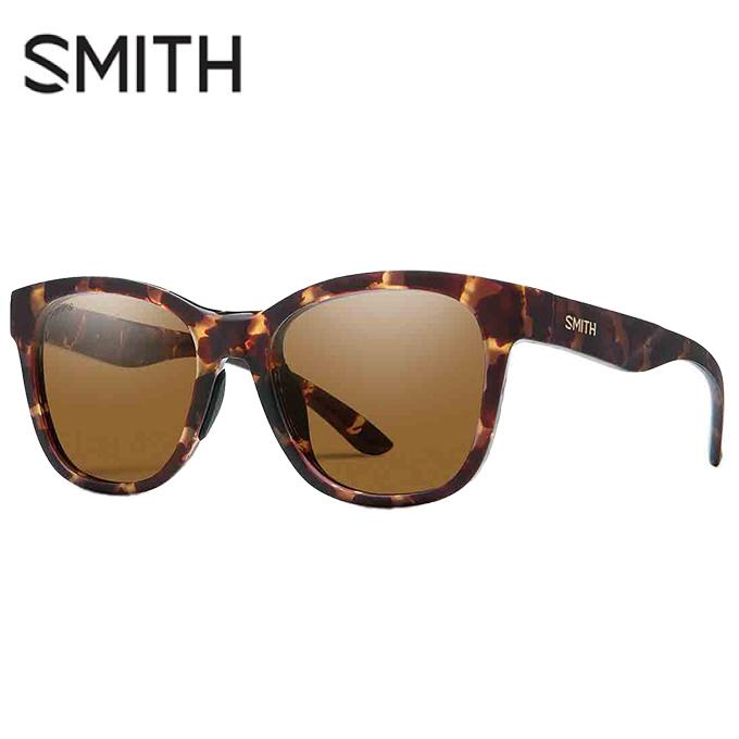 スミス SMITH 偏光サングラス メンズ レディース Caper Matte Tortoise ケイパー CAPER MT TORT CP P BRN