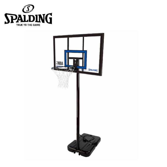 スポルディング SPALDING バスケットゴール 屋外 ハイライトアクリルポータブル バスケットゴール NBA公認 77455CN