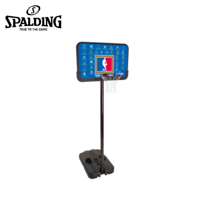 スポルディング SPALDING バスケットゴール 屋外 NBAチームシリーズ 工具不要 NBA公認 61-501CN