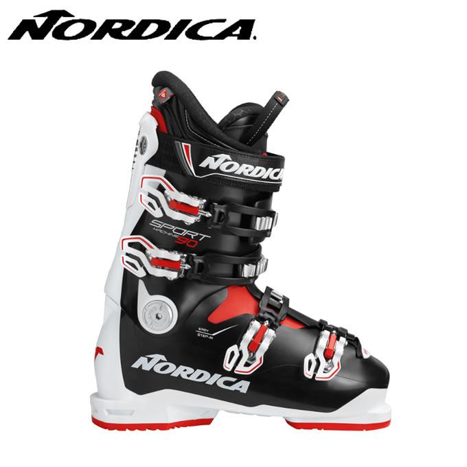 【スキー用品クーポンで10%OFF 12/19 20:00~12/26 1:59】 ノルディカ NORDICA スキーブーツ メンズ スポーツマシーン SPORTMACHINE 90 WHBKRD