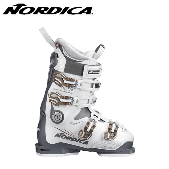 【クーポン利用で1000円引 11/18 23:59まで】 ノルディカ NORDICA スキーブーツ レディース スポーツマシン SPORTMACHINE 85W ANTWHBR