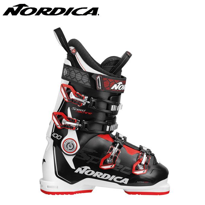 【クーポン利用で1000円引 11/18 23:59まで】 ノルディカ NORDICA スキーブーツ メンズ スピードマシーン SPEEDMACHINE 100 BKWHRD
