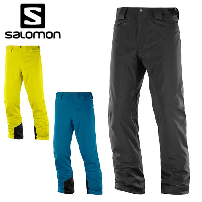 【ポイント3倍 10/11 8:59まで】 サロモン スキーウェア パンツ メンズ ICEMANIA PANT M salomon