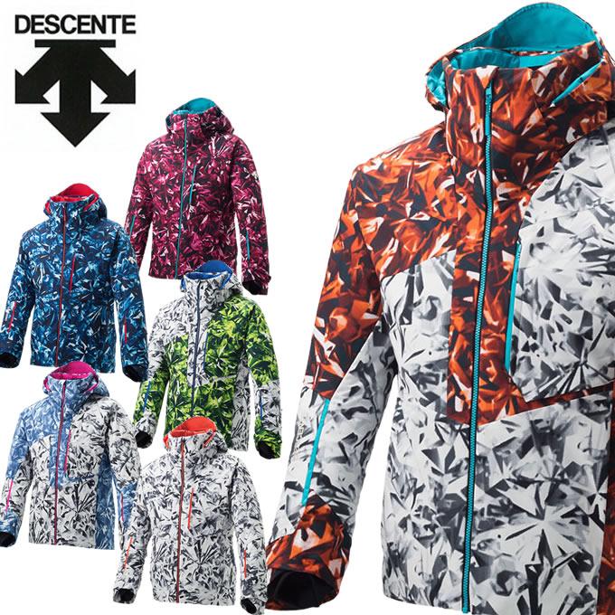 数量限定スキーウェア デサント DESCENTE スキーウェア ジャケット メンズ レディース S.I.O JACKET 60 DWUMJK54