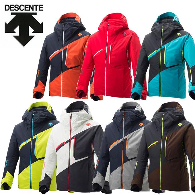 数量限定スキーウェア デサント DESCENTE スキーウェア ジャケット メンズ レディース S.I.O JACKET 60 DWUMJK51