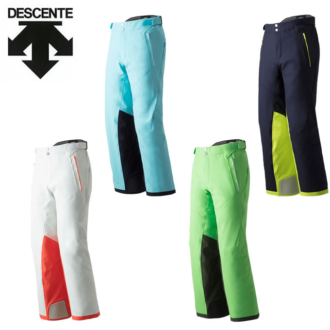 数量限定スキーウェア デサント DESCENTE スキーウェア パンツ メンズ レディース S.I.O PANTS 40 DWUMJD53